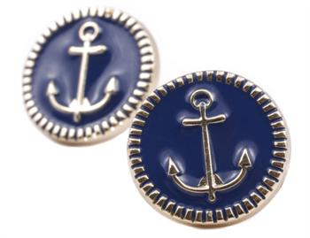 Port Rogers Anchor Earrings