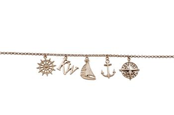 Port Rogers Charm Necklace