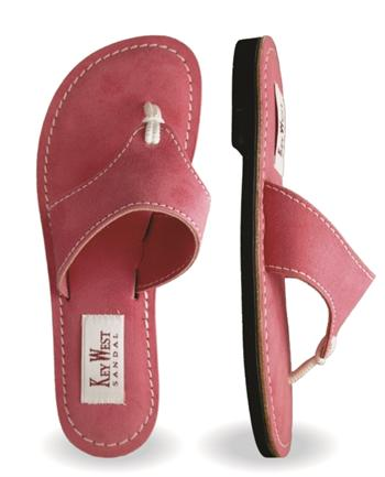 Womens Ultra Leather Flamingo Sandals (Pink | Fuchsia)